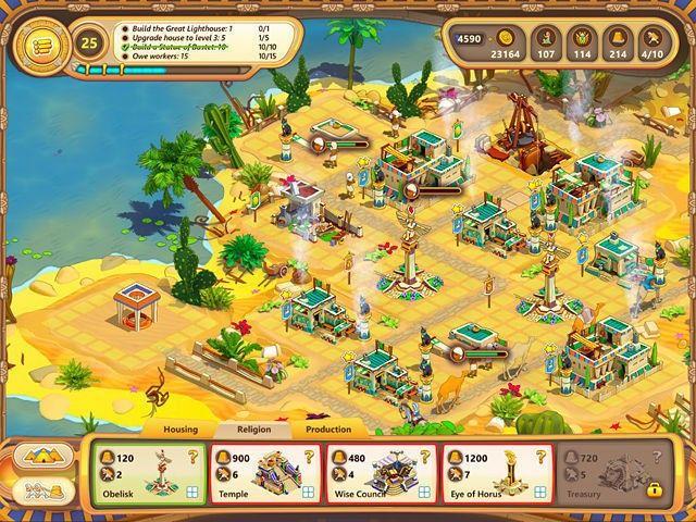 Ramses: Rise of Empire hra