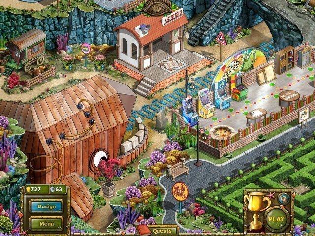 Screenshot  «Tales of Lagoona 3: Fehden, Fälschungen, und Fischstäbchen» № 5