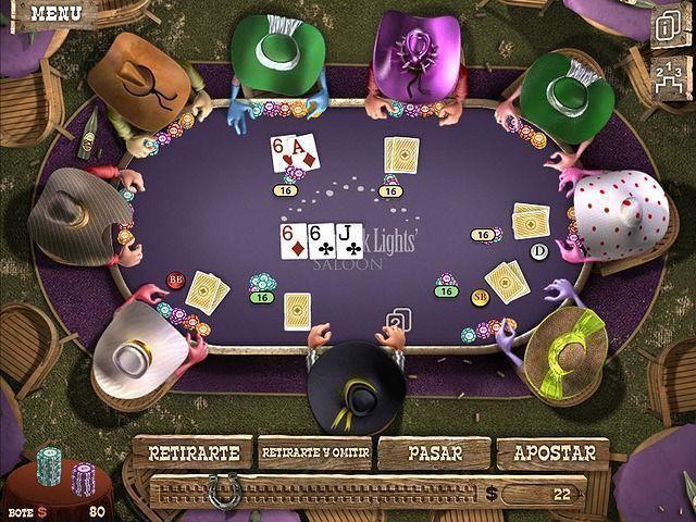 Juegos de poker del gobernador 2