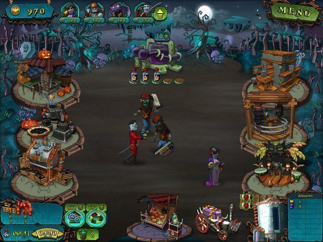 Vampires vs. Zombies en Español game
