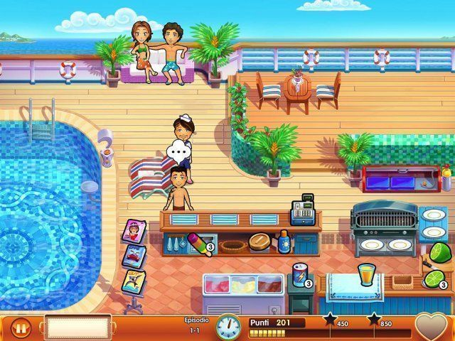 Gioco Delicious – Emily's Honeymoon Cruise download italiano