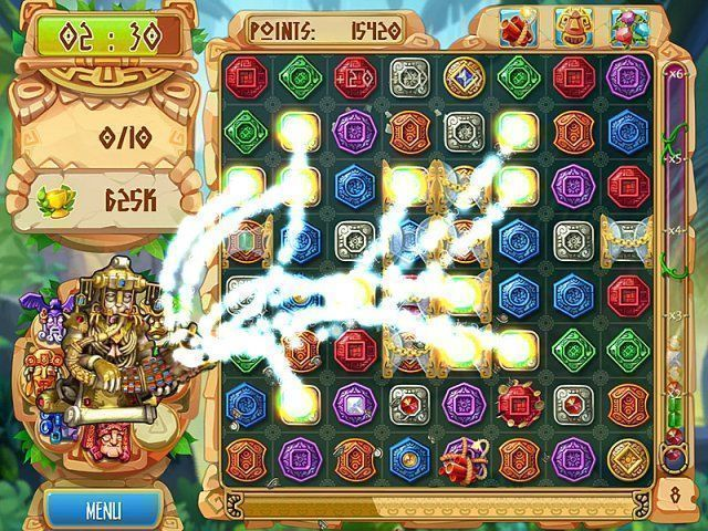 The Treasures of Montezuma 5 game