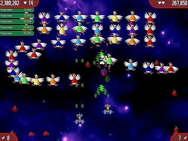 Bezpłatne pobieranie Chicken Invaders: The Next Wave Christmas Edition