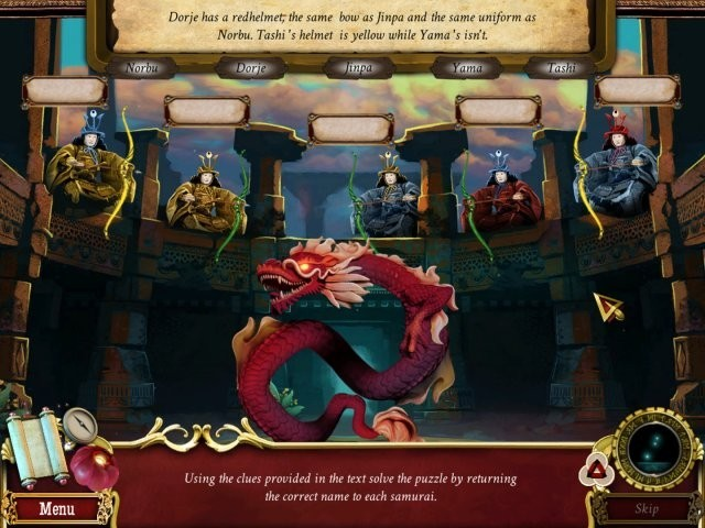 Tibetan Quest: Beyond The World's End. Collector's Edition Gra Bezpłatne