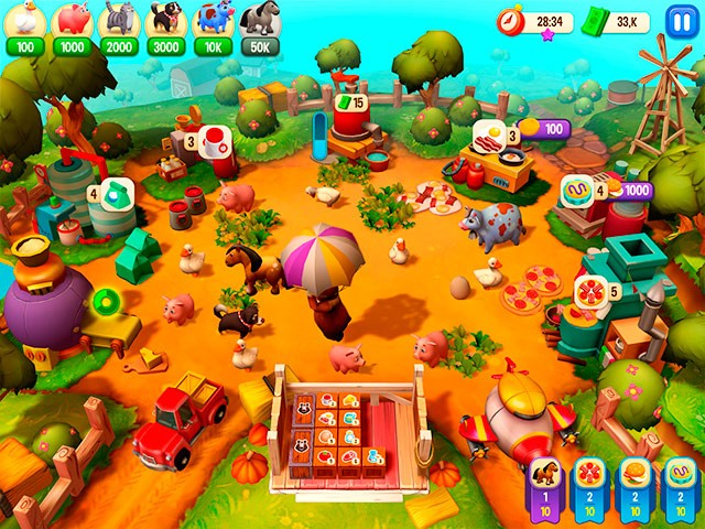 Farm Frenzy Reloaded. Sammleredition