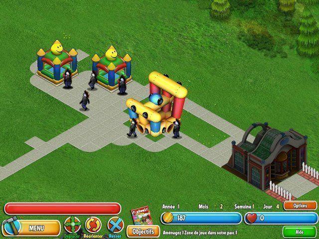 Dream Builder: Parc en Folie!